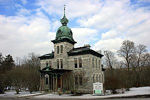 National Register of Historic Places listings in Dutchess County, New York - Image: Akin Free Library March 2007