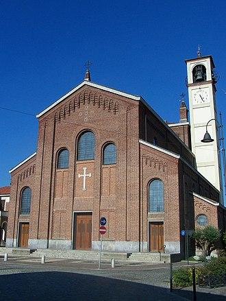 Albairate - Parish church of St. George.