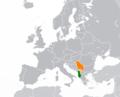 Albania Serbia Locator.png