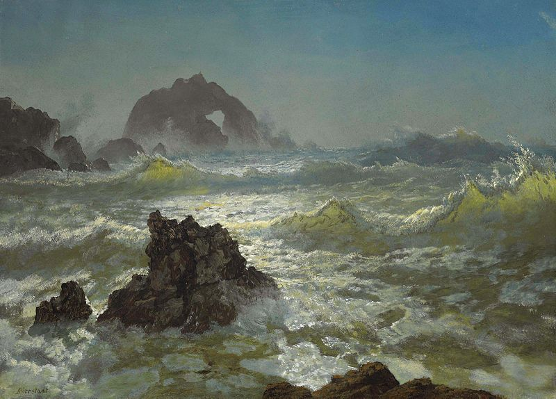 File:Albert Bierstadt - Seal Rock, California.jpg