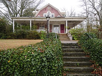 National Register of Historic Places listings in Laurens County, South Carolina - Image: Albright Dukes House
