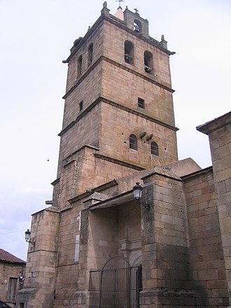 Aldeadávila de la Ribera - Image: Aldeadavila de la Ribera, iglesia