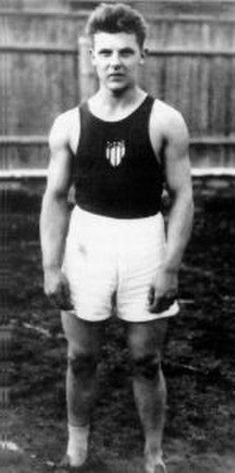 Decathlon world record progression - Estonian Aleksander Klumberg was the first official record holder.