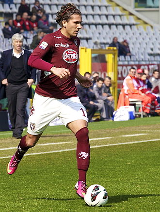 Alessio Cerci - Cerci playing for Torino in 2013