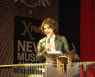 Alex Zane - Alex Zane at the Xfm Music Awards, January 2008