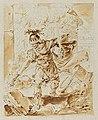 Alexander setting fire to Persepolis Bernhard Rode 18th century.jpg