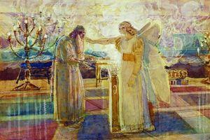 Archangel Gabriel struck dumb Zachariah