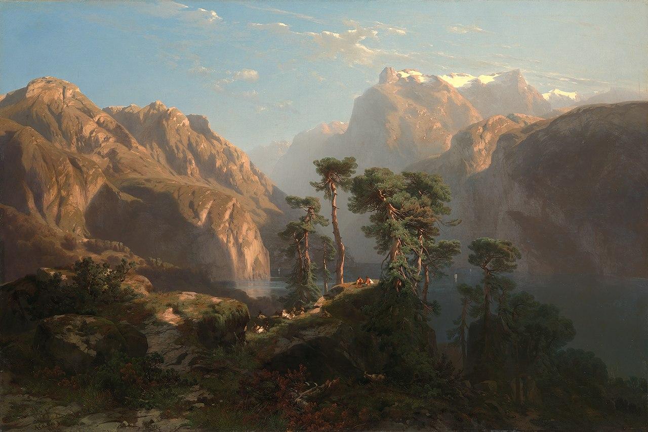Alexandre Calame-Vierwaldstätter See-SA 299-Амстердамский музей.JPG