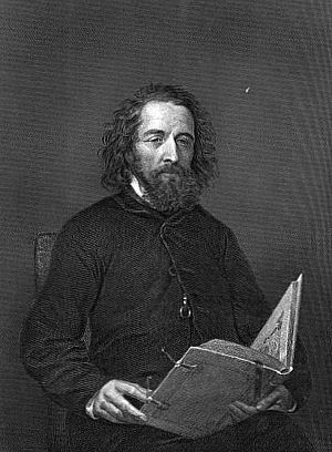 Alfred, Lord Tennyson cover