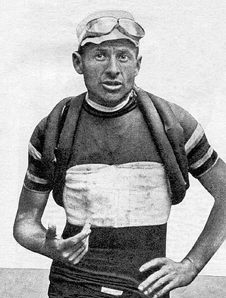 Alfredo Binda - Binda at the 1927 Giro d'Italia