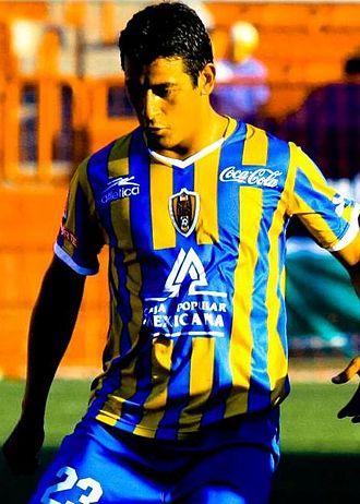 Alfredo Moreno - Moreno during his time at San Luis F.C.