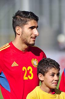 Aras Özbiliz Armenian footballer