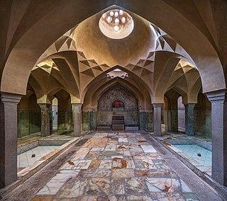 Hammam Place of public bathing common in Muslim societies