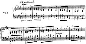 Concerto for Solo Piano (Alkan) - Image: Alkan concerto 1st mvt A