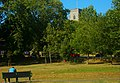 All Saints Benhilton as seen from Sutton Green, SUTTON, Surrey, Greater London (2) - Flickr - tonymonblat.jpg