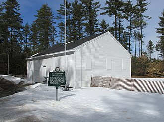 New Hampshire State Register of Historic Places - Image: Allenstown Meeting House, Allenstown NH