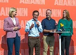 Nya partiledare och en ny hoft
