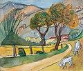 Alma del Banco Berglandschaft mit Ziegen c1932.jpg