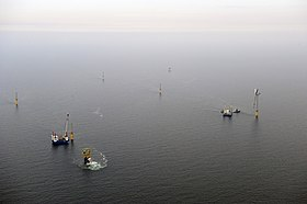 Image illustrative de l'article Parc éolien offshore Alpha Ventus