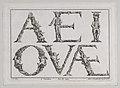 Alphabet Letters (5 Vowels) MET DP855607.jpg