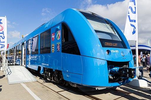 Alstom Coradia iLint - innoTrans 2016