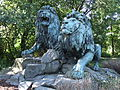 Am Tierpark, Zwei Löwengruppen II.jpg