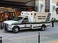 Ambulance at City Creek Center, Oct 16.jpg