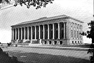 Denver Public Library - The original 1910 Denver Carnegie library; still stands today as the McNichols Civic Center Building.