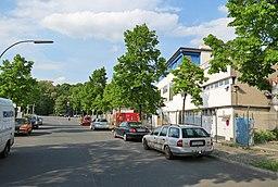An der Spreeschanze in Berlin