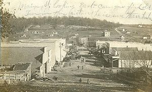 Anderson, Missouri - Main Street, Anderson, 1907