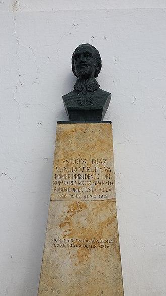 Villa de Leyva - Image: Andrés Diaz Venero de Leyva