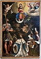 Andrea commodi, immacolata concezione coi ss. cristoforo, ludovico re, cecilia e caterina, 1609, 02.jpg