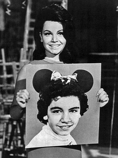 Annette Funicello, actress and singer