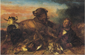 Ansdell The Poacher At Bay 1865.png