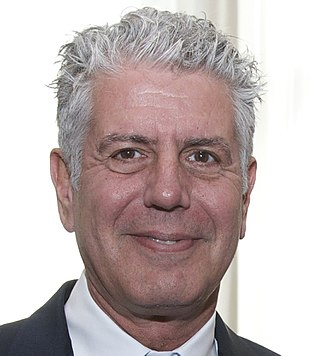 Anthony Bourdain - Image: Anthony Bourdain 2014 (cropped)