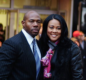 Lela Rochon - Rochon with husband Antoine Fuqua at the 2007 Shooter Film Premiere.