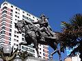 Antonio José de Sucre, Plaza del Estudiante 05.JPG