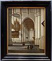 Antoon de lorme, interno della chiesa di san lorenzo a rotterdam, 1669.jpg