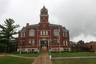 Bellaire, Michigan - Antrim County Courthouse in Bellaire