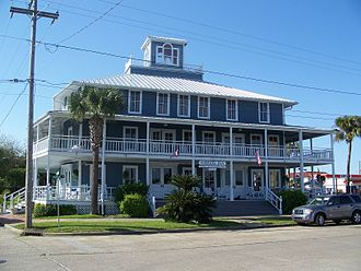 North Florida - Historic Gibson Inn, Apalachicola, Florida, built in 1907.