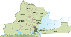 Location of Apapa
