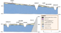 Apollo 17. Taurus Littrow valley. Detailed cross sections.png