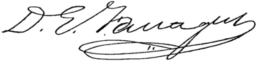 Appletons' Farragut David Glasgow signature.png
