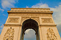 Arc de Triomphe de l'Étoile from the northwest, 10 June 2013.jpg