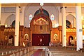 Archangel Michael's Coptic Orthodox Cathedral, built in the Coptic style 2006-10-EGYPT-ASWAN.jpg