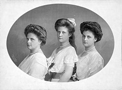 Archiduchesses Dolores, Margaretha and Inmakulata of Austria.jpg
