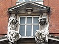 Architectural sculpture, Mortimer Street, London.jpg