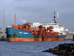 Arco Humber p2 at IJmuiden, Port of Amsterdam, Holland.JPG