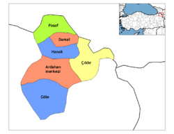 Ardahan districts.png