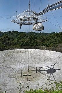 Arecibo Observatory Radio observatory in Arecibo, Puerto Rico